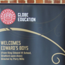 """Alchemy performed by Edward's Boys… to a standing ovation."""